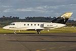 FalconAir (VH-PNY) Dassault Falcon 20F-5 at Wagga Wagga Airport.jpg