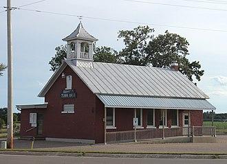 Farmington, Waupaca County, Wisconsin - Town hall