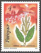 Faroe stamp 205 anthropochora - northern dock (Rumex longifolius).jpg