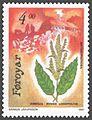 Faroe stamp 205 anthropochora - northern dock (Rumex longifolius).jpg