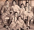 Farouk with his mother and sisters.jpg