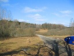 Gammelt avls-landskab på Farstanäset.