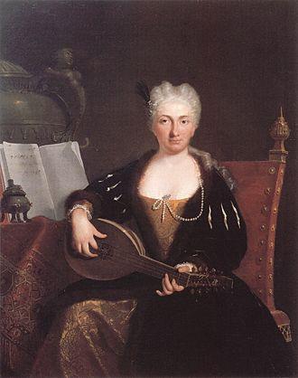 Bartolomeo Nazari - Image: Faustina Bordoni by Nazari