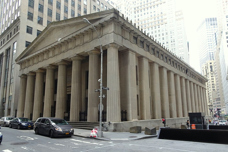 Federal Hall back jeh