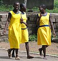 Female Students Share a Laugh - Bolgatanga - Ghana (4776532675).jpg
