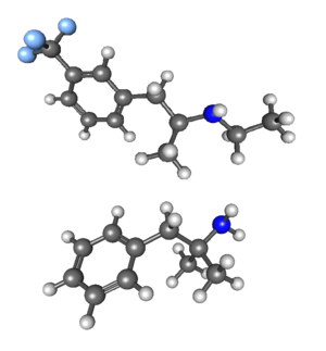 Fenfluramine/phentermine - Image: Fenphen 3D