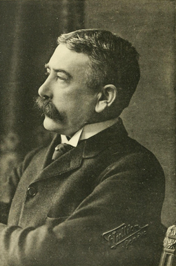 Ferdinand de Saussure developed the structuralist approach to studying language. Ferdinand de Saussure by Jullien.png
