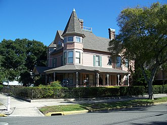 National Register of Historic Places listings in Nassau County, Florida - Image: Fernandina Beach FL Bailey House 01