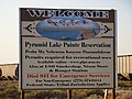 Fernley, Nevada, Welcome Pyramid Lake Paiute Reservation - panoramio.jpg