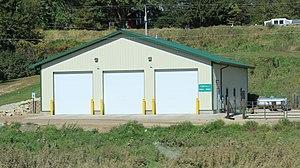 Ferryville, Wisconsin - Image: Ferryville Wisconsin Public Works