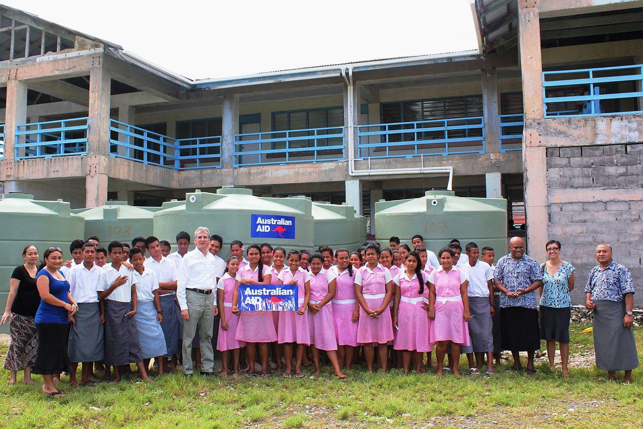 File Fetuvalu High School On Funafuti Atoll Tuvalu Jpg