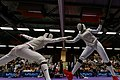 Final women foil French Fencing Championship 2013 n06.jpg