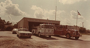 Sunnyside, Houston - Fire Station 55, 1976