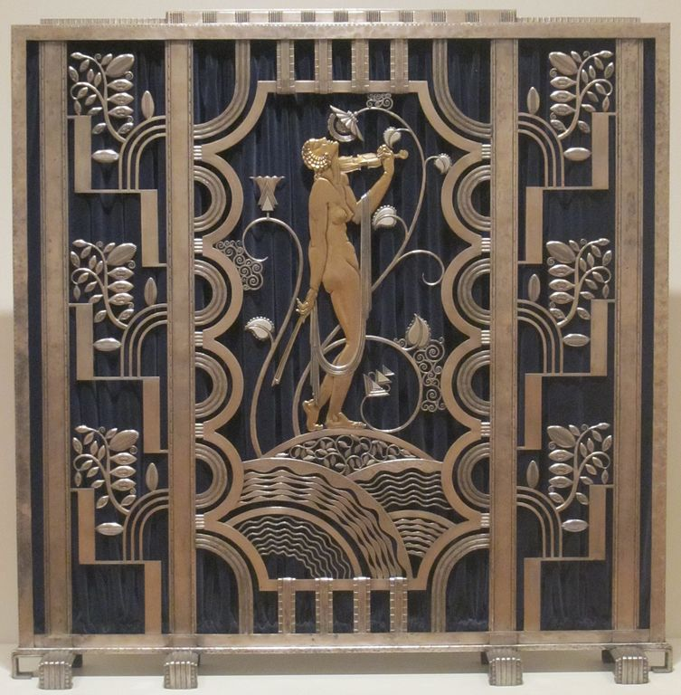 File Fire Screen Made By Rose Iron Works Of Cleveland
