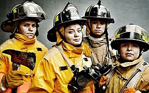 Women in firefighting - Female firefighters