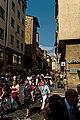 Firenze - Florence - Ponte Vecchio - View NNE into Via Por Santa Maria.jpg
