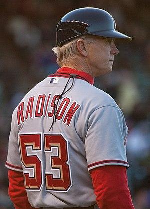Dan Radison - Image: First Base Coach Dan Radison