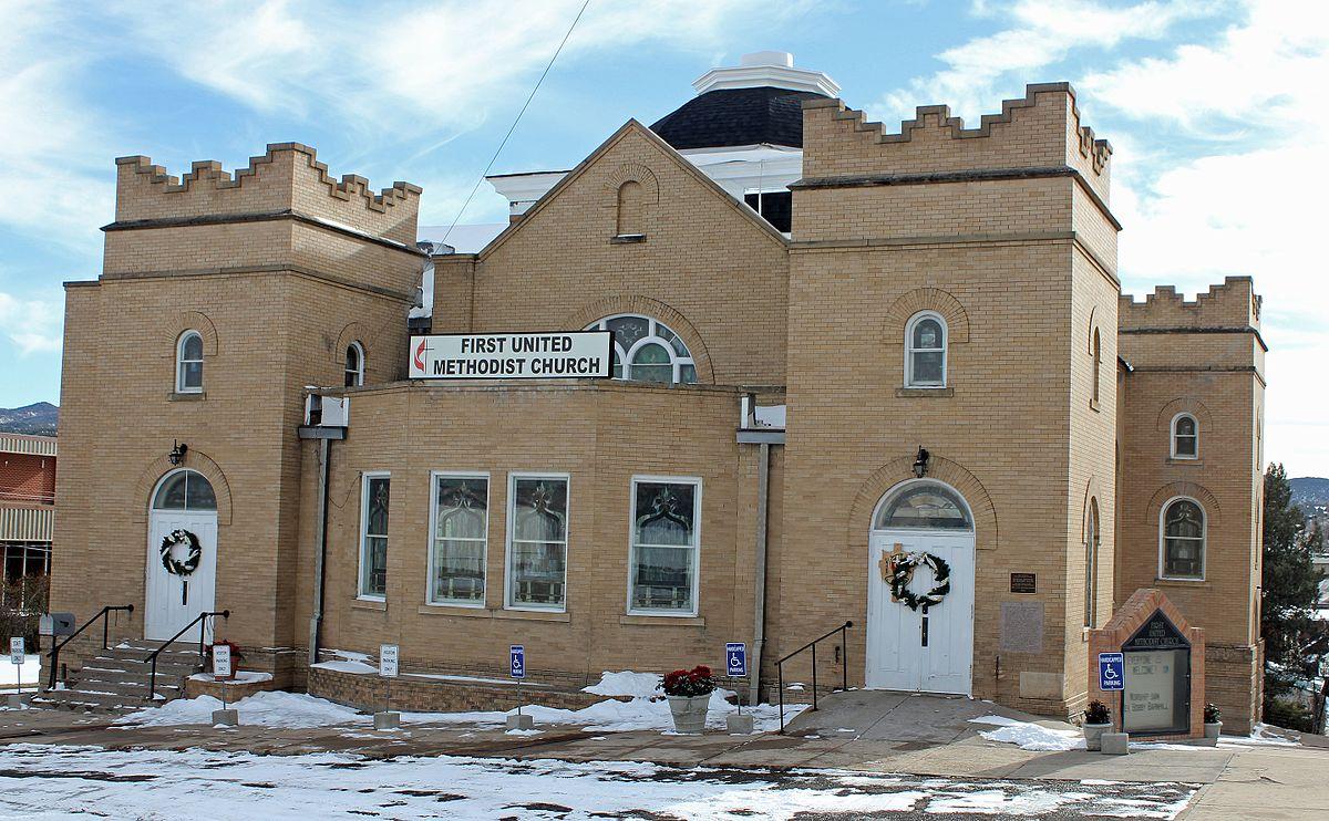 First Methodist Episcopal Church Trinidad Colorado