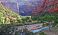 First Sun, Zion Canyon 2014 (16603097792).jpg
