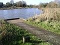 Fishing peg, Kingfisher Pool - geograph.org.uk - 1196896.jpg