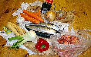Fish, fish soup