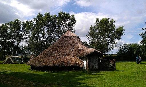 Flag Ben Iron Age Roundhouse