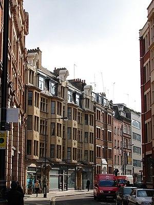 Newman Street - Newman Street looking south