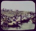 Fleet of fishing boat (sic) on bank of Ganges (?) LCCN2004707789.tif