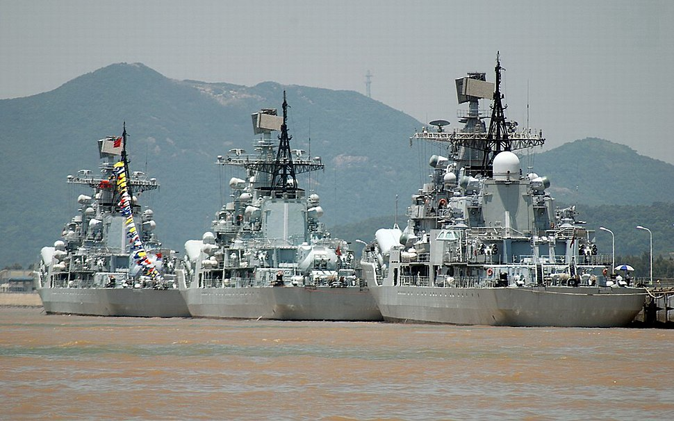Fleets in Dong Hai