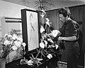Fleuropiade 1963 te Utrecht gehouden De juniorenafdeling tijdens het maken van , Bestanddeelnr 915-2276.jpg