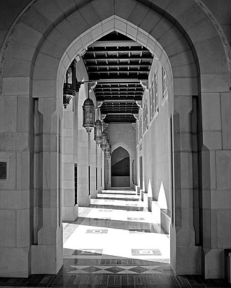 Sultan Qaboos Grand Mosque - Image: Flickr JB London Sultan Qaboos Grand Mosque