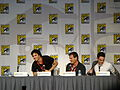 Flickr - vagueonthehow - Ian Somerhalder, Kevin Williamson ^ Michael Trevino.jpg