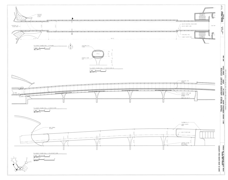 Ping Mall Plan Elevation Section : File flight tube no plan section and elevation