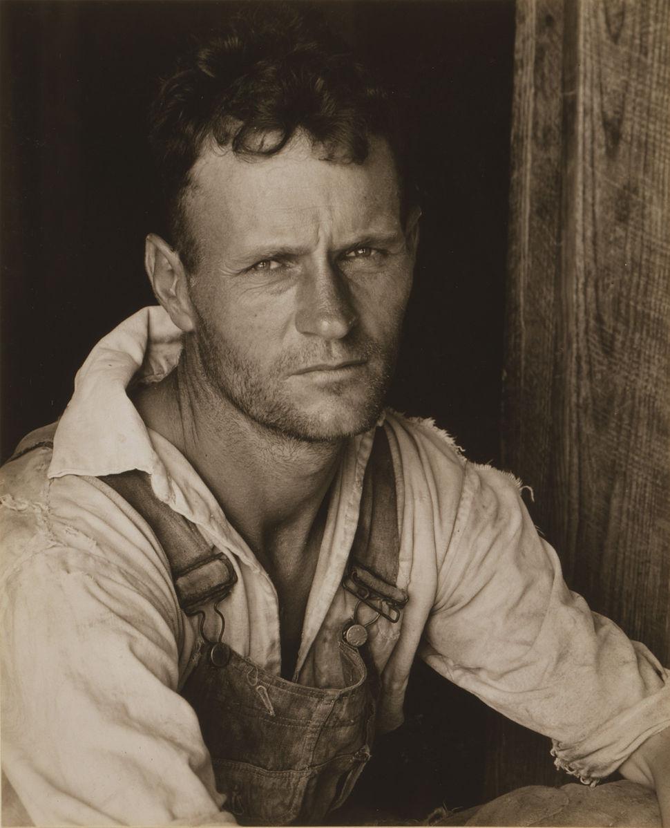 Floyd Burroughs sharecropper