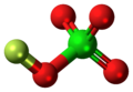 Fluorine perchlorate molecule ball.png