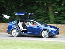 The Model X Has Double Hinged Falcon Doors