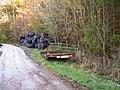 Fodder at Coed Canol - geograph.org.uk - 82988.jpg