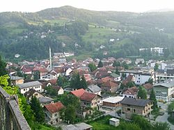 Skyline of Fojnica