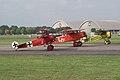 Fokkers Dr.I VII VIII Preflight Startup Dawn Patrol NMUSAF 26Sept09 (14413265420).jpg