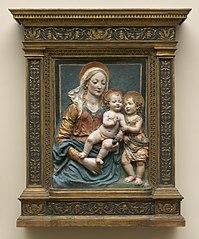 Virgin and Child with Saint John