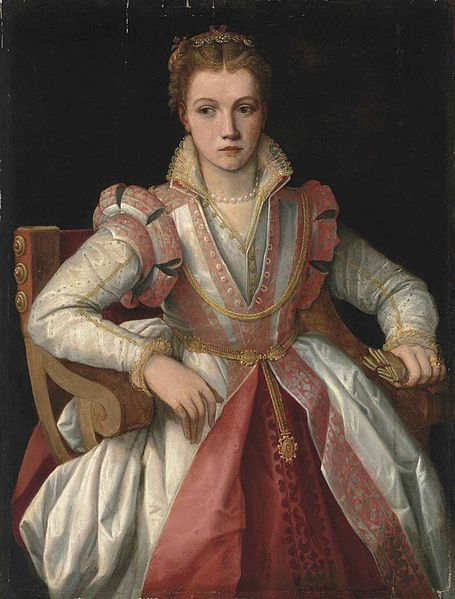 File:Follower of Francesco Salviati del Rossi Portrait of a Lady.jpg