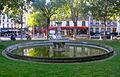 Fontaine du Square Santiago du Chili.JPG