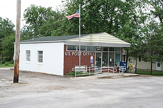 Foosland, Illinois - Foosland Post Office
