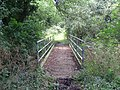 Footbridge over stream - geograph.org.uk - 497513.jpg