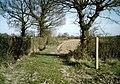 Footpath junction near Bridgehurst Wood - geograph.org.uk - 1238335.jpg