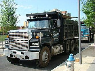 Ford L-Series - Ford LTL9000 dump truck