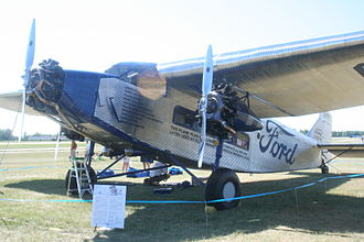 Floyd Bennett - The Ford Trimotor used in the Bremen Rescue