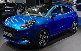 Ford Puma (2019) at IAA 2019 IMG 0433.jpg