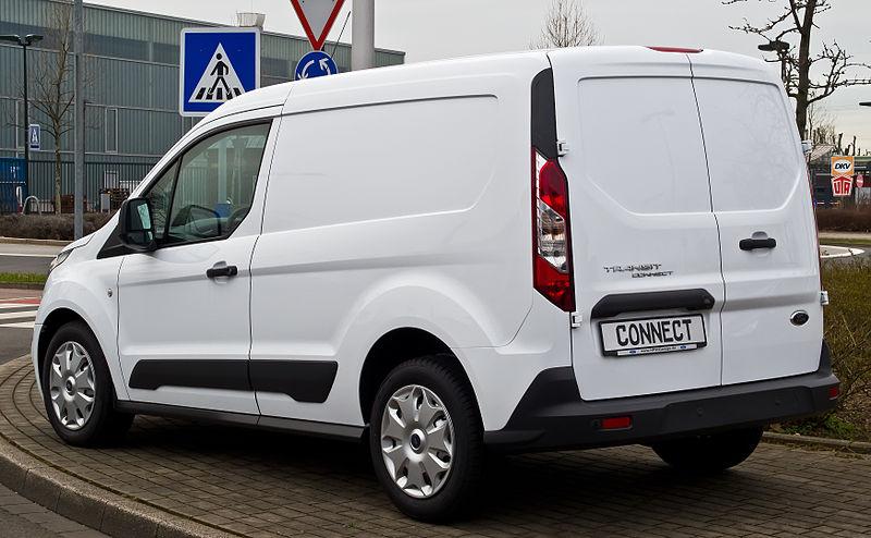 Ford Transit Connect 1.6 TDCi (II) %E2%80%93 Heckansicht, 3. April 2015, D%C3%BCsseldorf.jpg