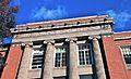 Former Washington HS (Portland, Oregon) in 2013 - entablature showing school name.jpg